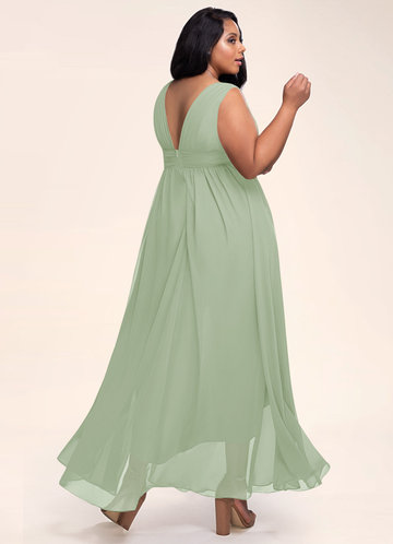 back_Blush Mark Plus Size Dancing Queen Maxi Dress
