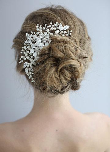 back_Victoria Floral Comb