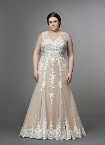 b8da1c4e65e Azazie Honey Wedding Dress ...