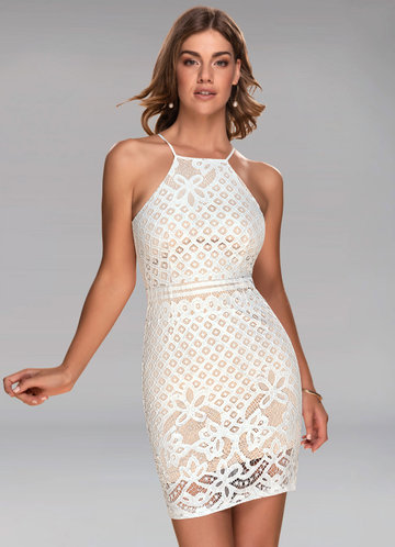 Beautiful White Lace Dress