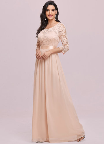 front_EVER-PRETTY Zip Back Lace Bodice Dress