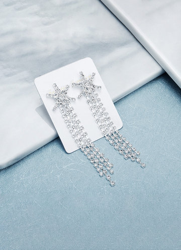 front_Star Tassel Earrings