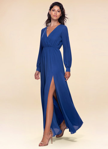 One And Only Royal Blue Maxi Dress