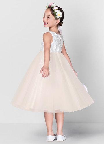 back_Azazie Udara Flower Girl Dress