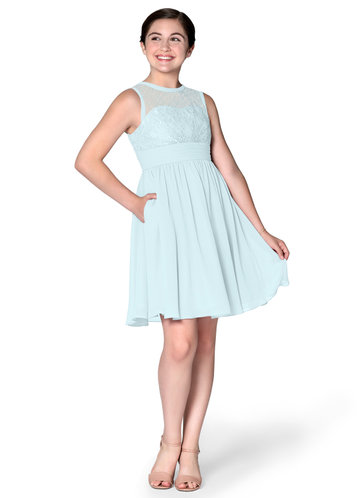 Azazie Finley Junior Bridesmaid Dress