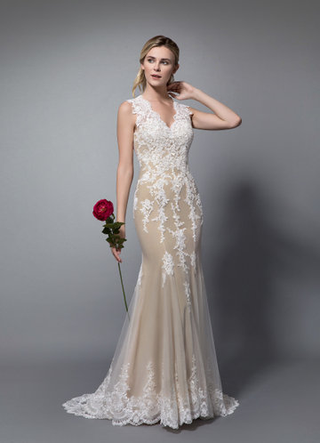 7ceeb4fec1d Azazie Honey Wedding Dress ...