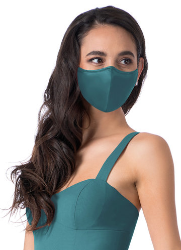 back_Updated Non-Medical Matte Satin Reusable Face Mask