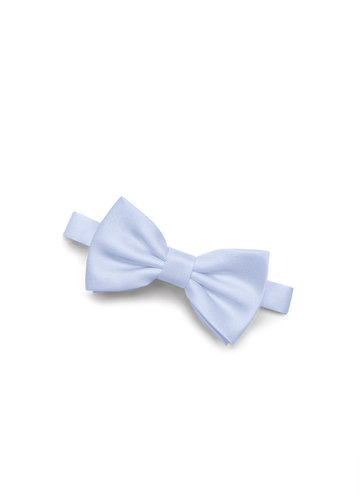 back_Gentlemen's Collection Boy's Matte Satin pre-tied bow tie