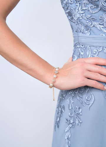 back_Simply You Crystal and Pearl Bracelet
