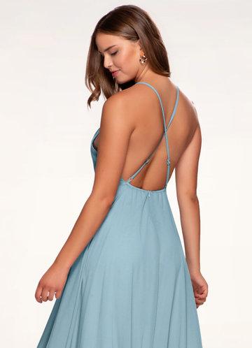 Romeo and Juliet Slate Blue Maxi Dress