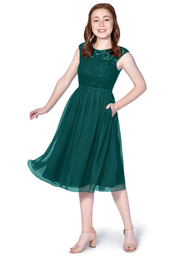 Azazie Arya Junior Bridesmaid Dress