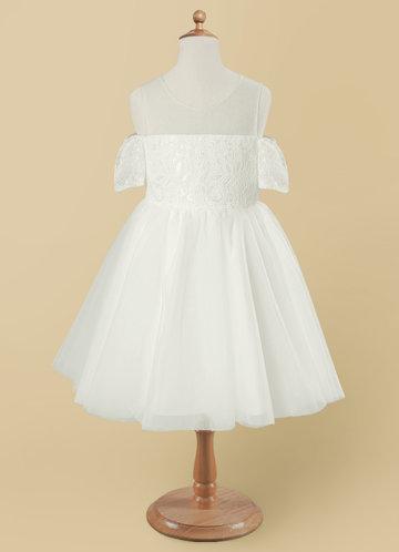 front_Azazie Nantale Flower Girl Dress