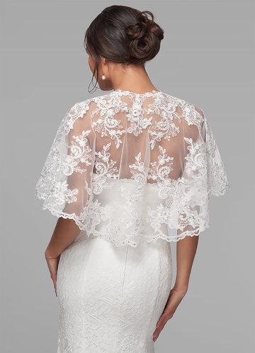 back_Azazie Hephzibah Lace Tulle Wrap