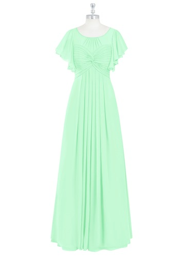 Azazie Lily Modest Bridesmaid Dress