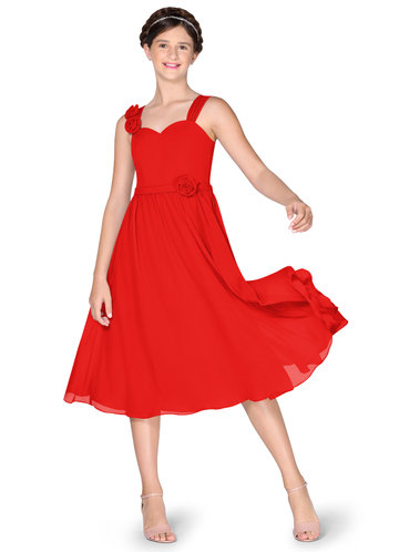 Azazie Norah Junior Bridesmaid Dress