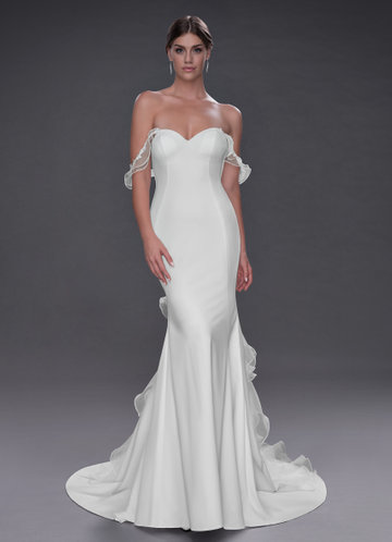 Azazie Idania Wedding Dress
