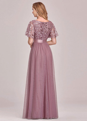 back_EVER-PRETTY Embroidery & Sequin Bodice Mesh Prom Dress