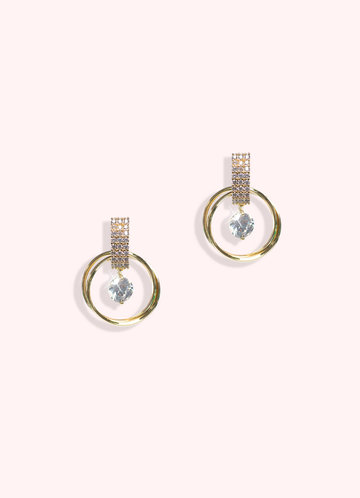 front_Combo Hoop Drop Earrings