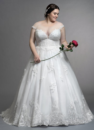 Azazie Angelique Wedding Dress