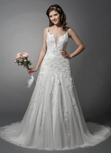 Azazie Oakley Wedding Dress