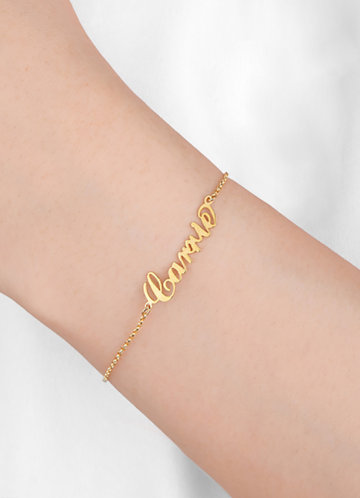 front_Personalized Name Bracelet