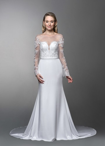 Azazie Ernestine Wedding Dress