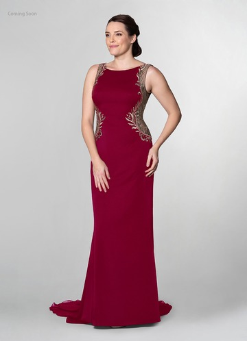 Azazie Cerise Mother of the Bride Dress