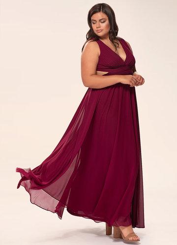 Unforgettable Burgundy Maxi Dress