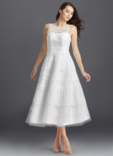Azazie Azul Wedding Dress