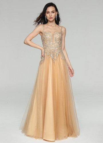 front_AZ Golden Meadows Prom Dress