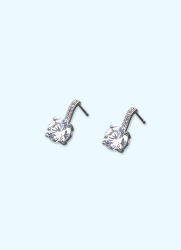 front_Hook and Crystal Earrings
