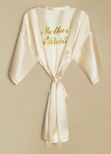 back_Mother of the Bride Satin Robe
