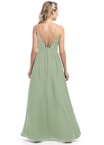 Dusty Sage Bridesmaid Dresses Dusty Sage Gowns Azazie