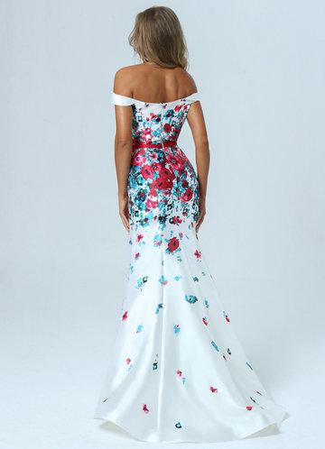 back_AZ Passion Petals Prom Dress