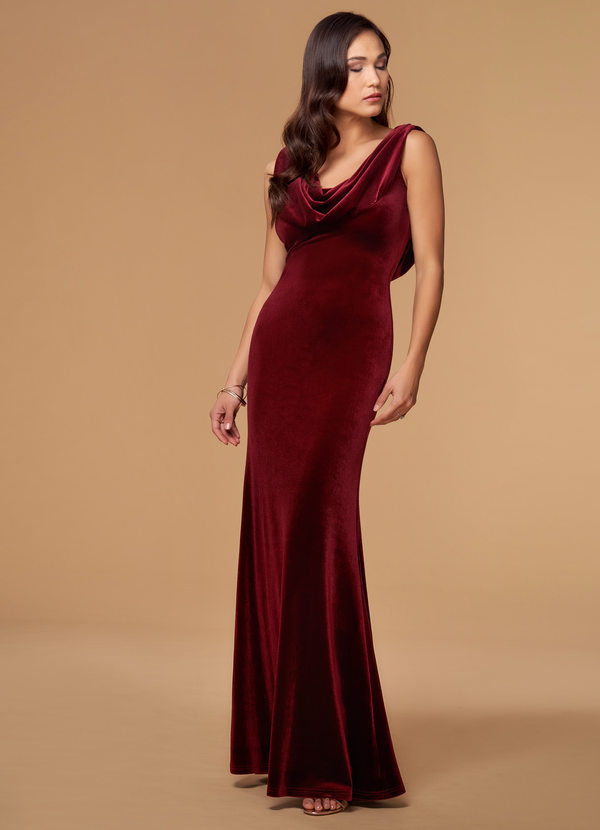 Waiting On You {Color} Velvet Maxi Dress