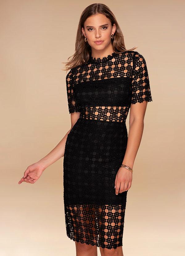 Puzzle {Color} Lace Bodycon Midi Dress