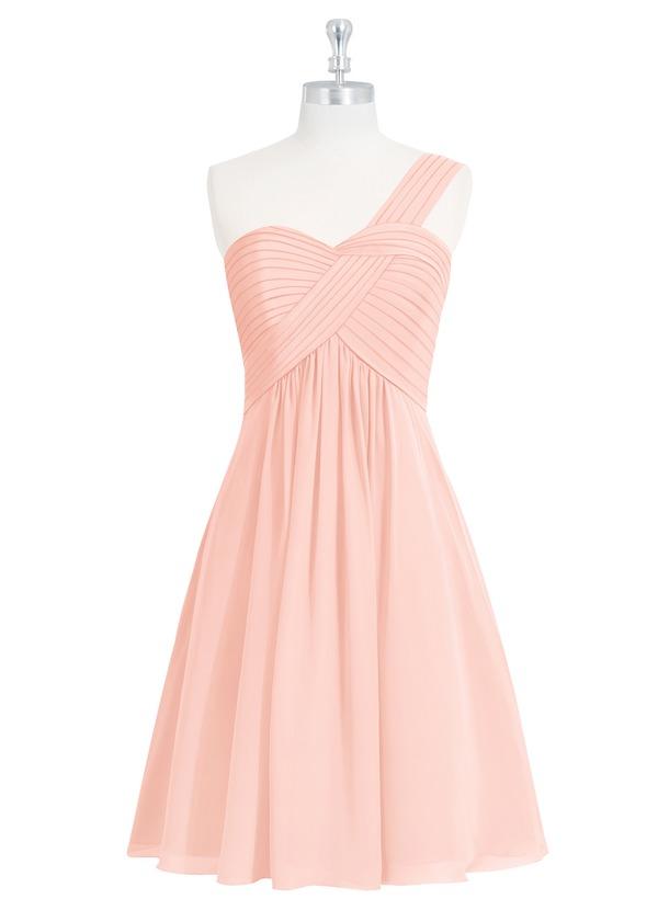 Azazie Sariah Bridesmaid Dress - Coral | Azazie