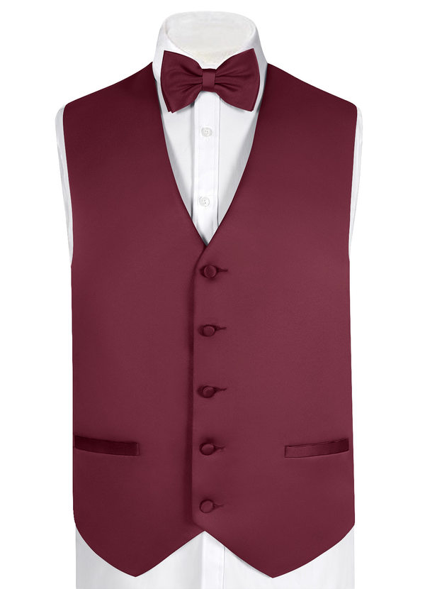 Gentlemen's Collection Matte Satin Vest