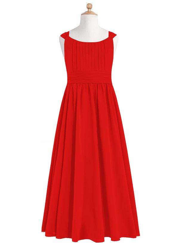46fb55a16c9 Azazie Tiana JBD Junior Bridesmaid Dress - Red