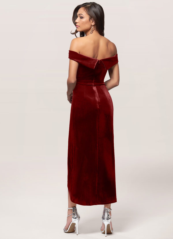 Sweet Desire {Color} Velvet Midi Dress