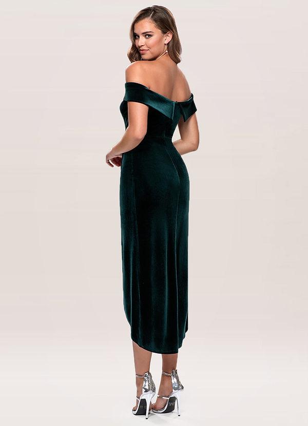Sweet Desire {Color} Velvet Midi Dress