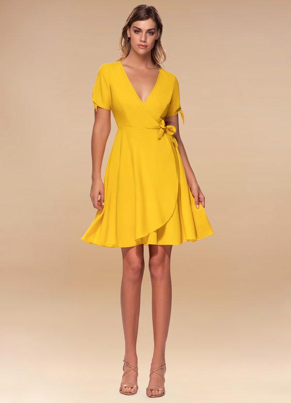 Coffee Break {Color} Wrap Dress