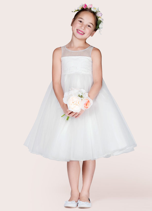 Azazie Hava Flower Girl Dress