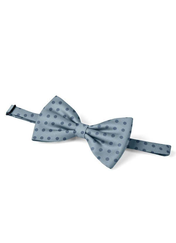 Gentlemen's Collection Men's pre-tied Polka Dots bow tie