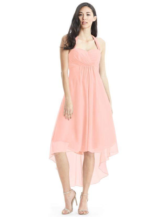 Azazie Annabel Bridesmaid Dress - Coral | Azazie
