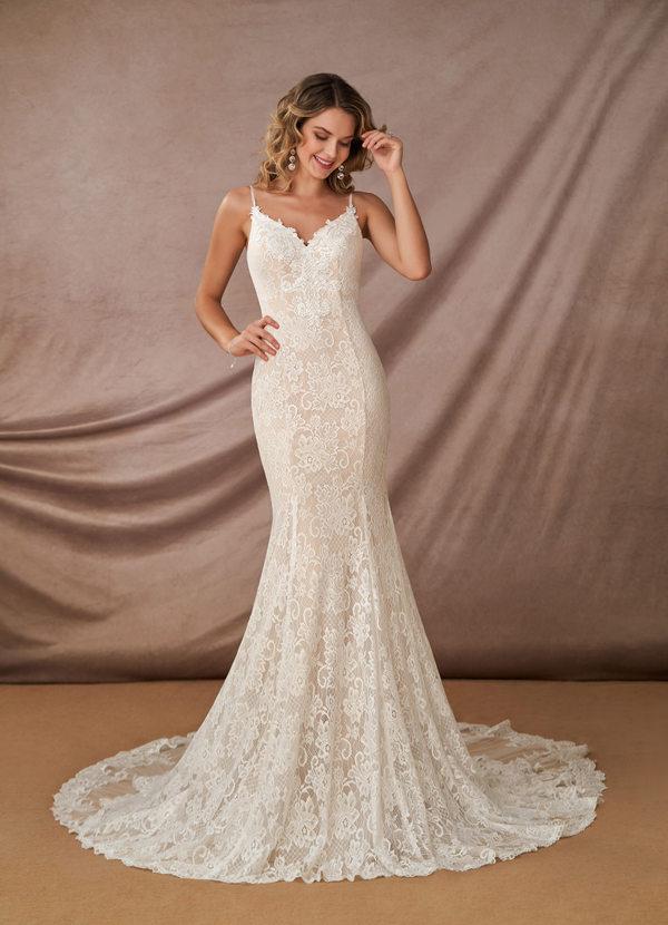 Azazie Prudence Wedding Dress