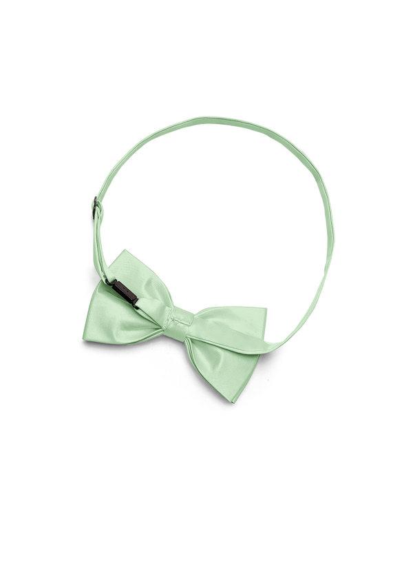 Gentlemen's Collection Men's Matte Satin pre-tied bow tie