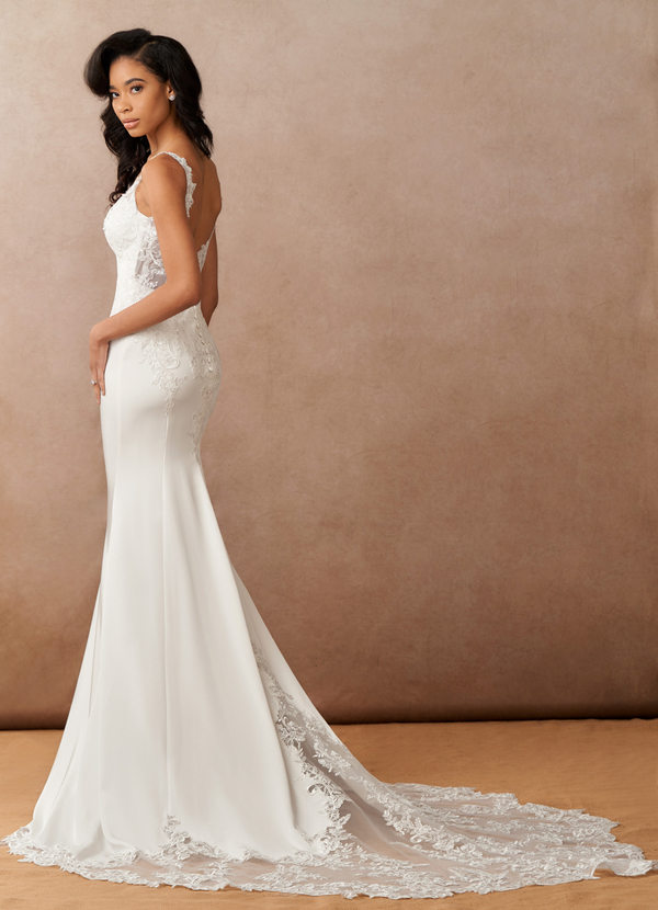 Azazie Dahlia Wedding Dress
