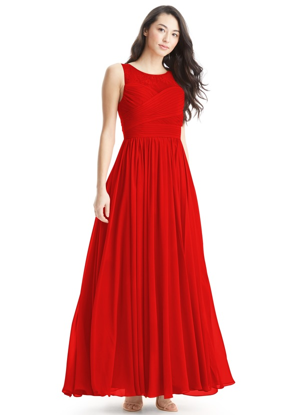 60d5af173d24 Azazie Aliya Clearance Bridesmaid Dress | Azazie