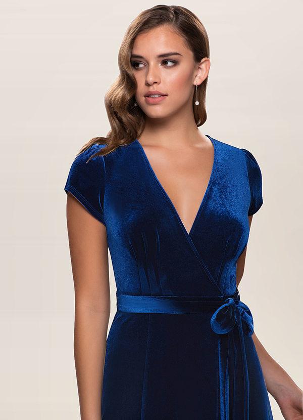 Dreaming Of You {Color} Velvet Maxi Dress
